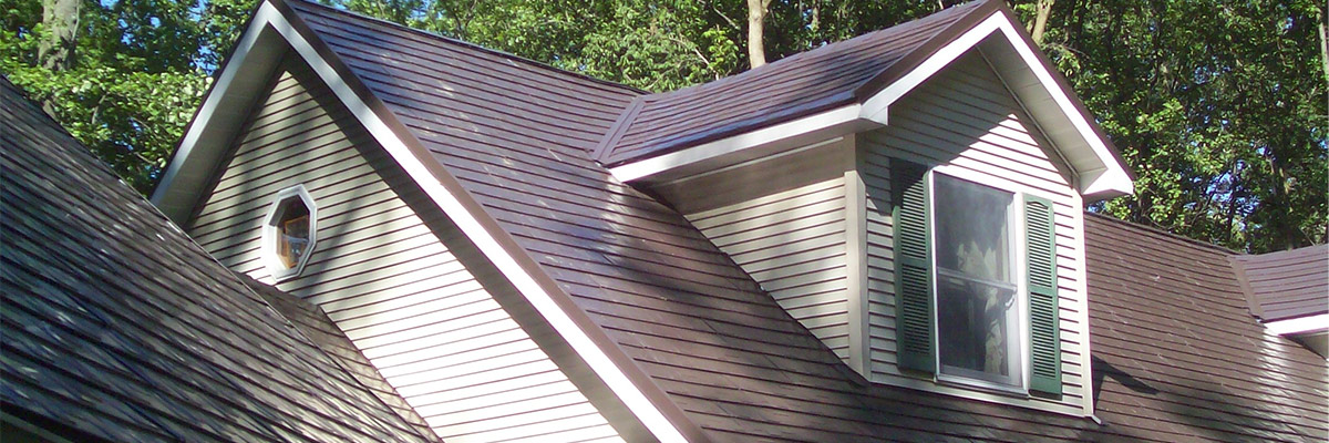 METAL SHINGLE ROOF