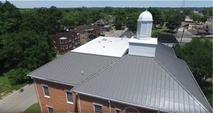 What are the different types of metal roofing?
