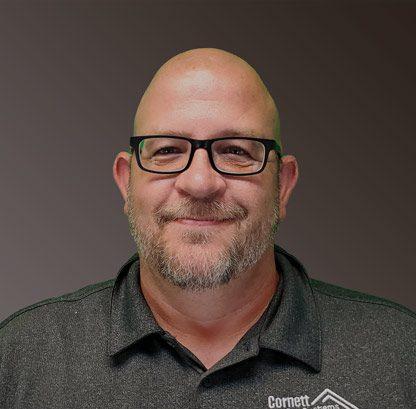 Jason Bush, Digital Specialist for Cornett Roofing