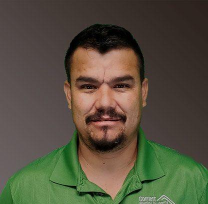 Ruben Maldonado, Production Manager for Cornett Roofing