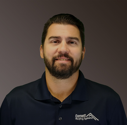 Keith Waller, Sales Manager for Cornett Roofing