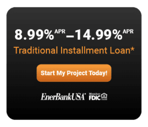 EnerBank USA financing advertisement