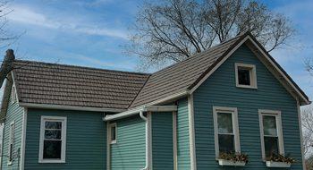 cincinnati metal roof in brown