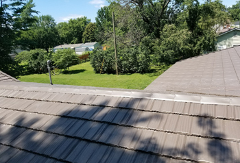 metal roof on home in crawfordsville in