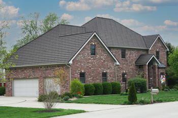 metal roof on home in shelbyville in