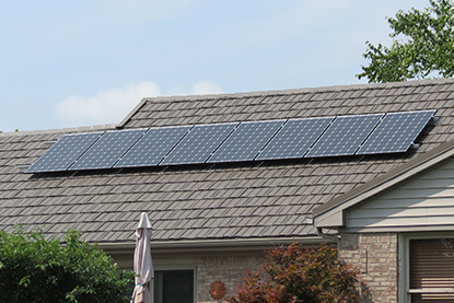 solar roofing panels