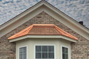 copper bay window cover