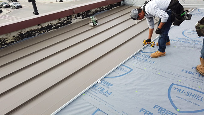 """Why Converting Your Flat Roof to Sloped Metal Makes """"Cents"""""""